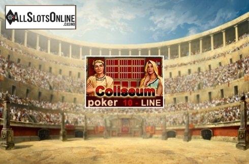 10-Line Coliseum Poker