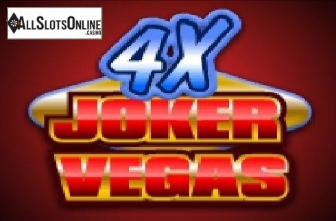 4x Vegas Joker Poker