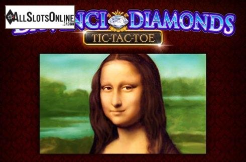 Da Vinci Diamonds Tic Tac Toe