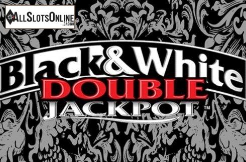 Double Jackpot Black & White
