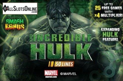 Incredible Hulk 50 Lines