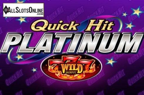 Quick Hit Platinum Triple Blazing 7s