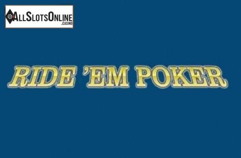 Ride'Em Poker (Rival)