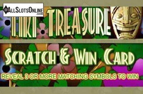 Tiki Treasure Scratch and Win