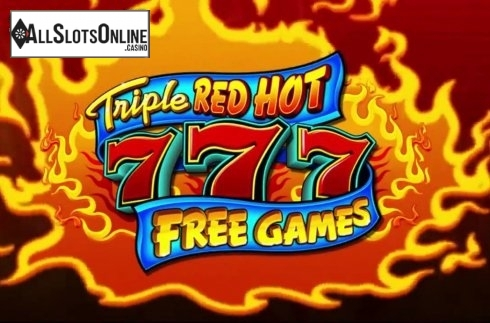 Triple Red Hot 7s