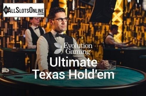 Ultimate Texas Hold'em (Evolution Gaming)