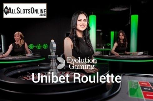 Unibet Roulette (Evolution Gaming)