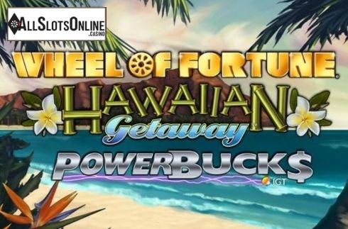 Wheel of Fortune Hawaiian Getaway Powerbucks